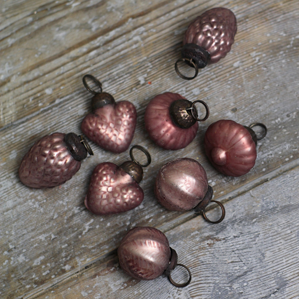 Miniature Christmas Decoration - Rose Pink - Closet & Botts