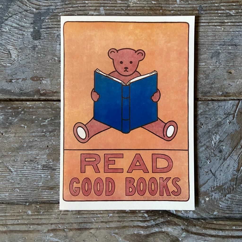Read Good Books' Greeting Card - Closet & Botts