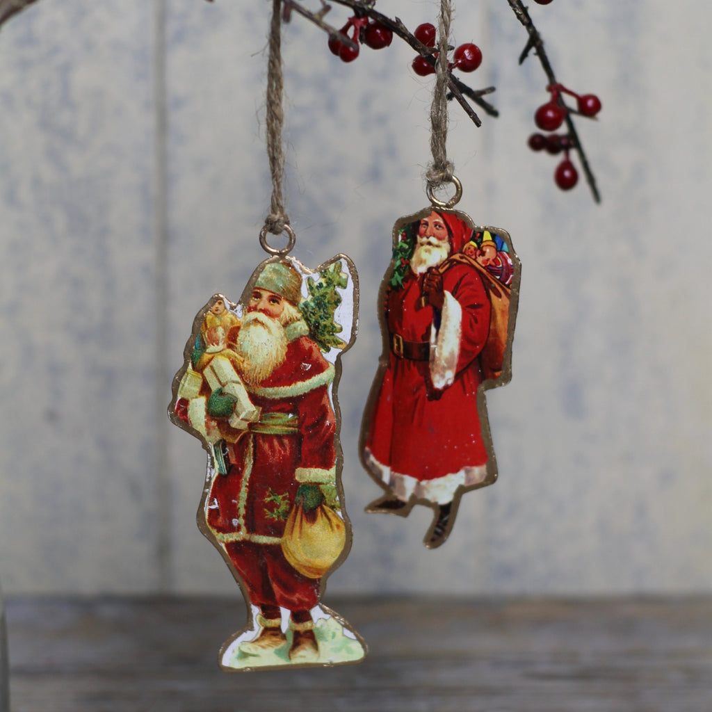 Santa Decoration - Closet & Botts