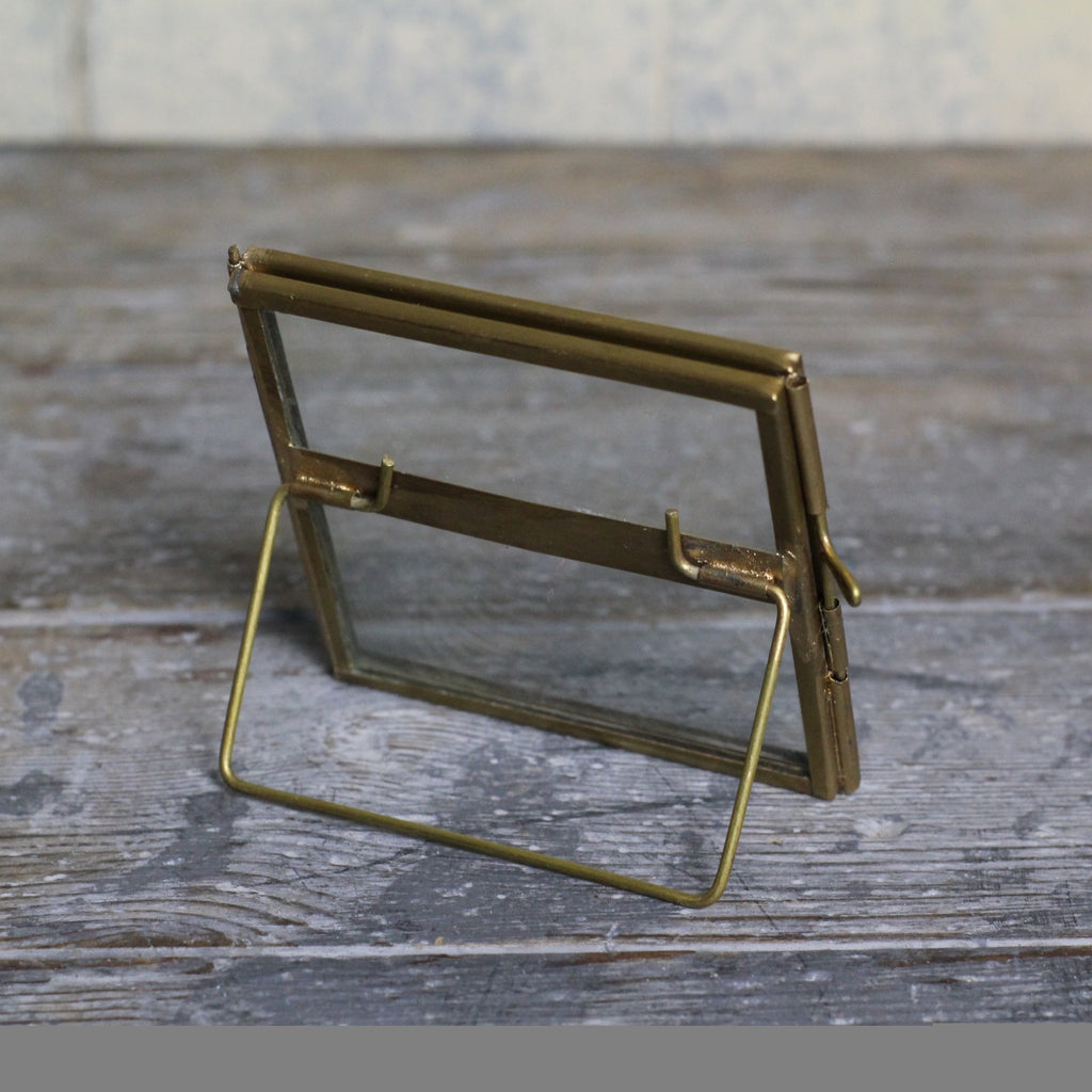 Small Square Brass Frame - Homeware Store