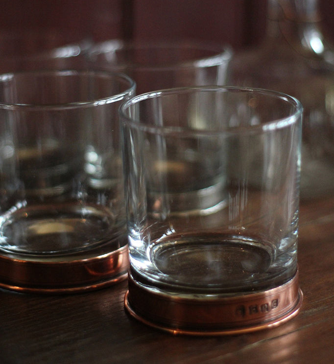 Whisky Glass, Copper - closetandbotts