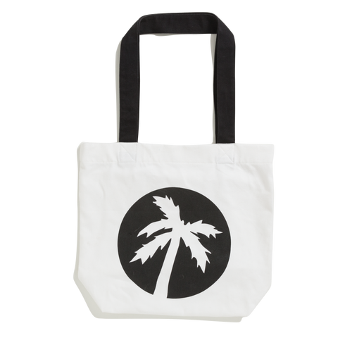 clipped phoenix white tote bag