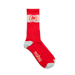 flag socks / red