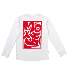 red tribal longsleeve