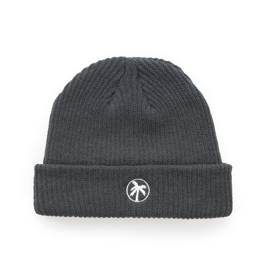 grey loose palms beanie
