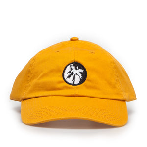 yin palm dad cap / mustard