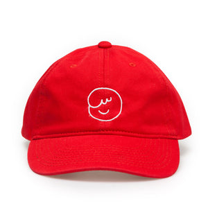 ossom boi dad cap / red