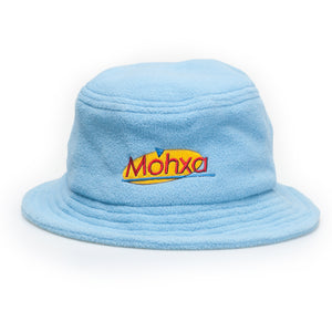 cosmo polar fleece bucket / super cyan