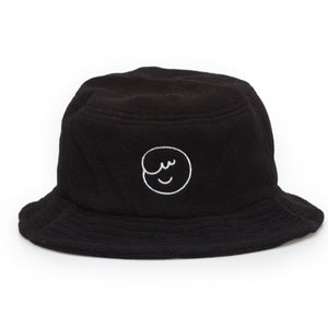 ossom boi polar fleece bucket / black
