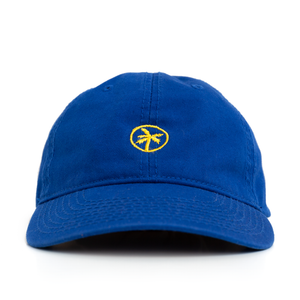 logo dad cap / blue