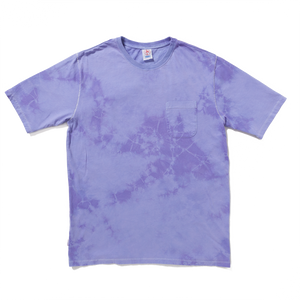 future prospects tee / tie dye purple
