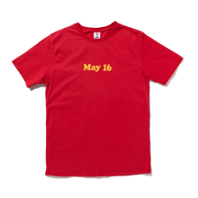 may 16 tee / red