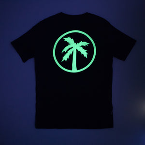 team tee / black (glow in the dark)