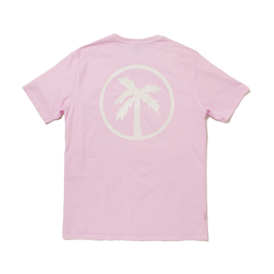 team tee / porky pink (glow in the dark)