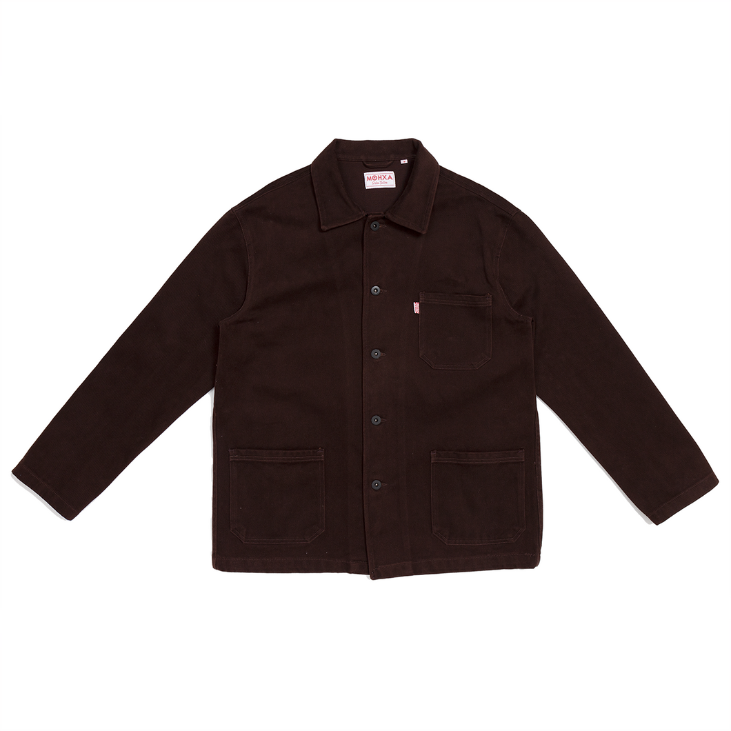 brown chore jacket