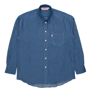 denim everyday shirt indigo