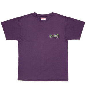 ossom faces eggplant tee