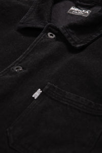 Black enzyme chore jacket
