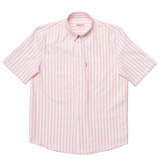 teddy stripe label shirt