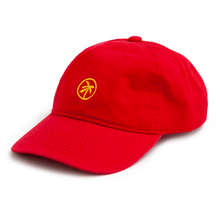 logo dad cap / red
