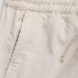 off white corduroy chiller pants