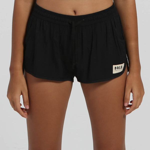 black Nalu shorts