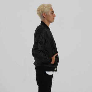Bomber Jacket (Black) - Nalu