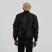 Load image into Gallery viewer, Bomber Jacket (Black) - Nalu