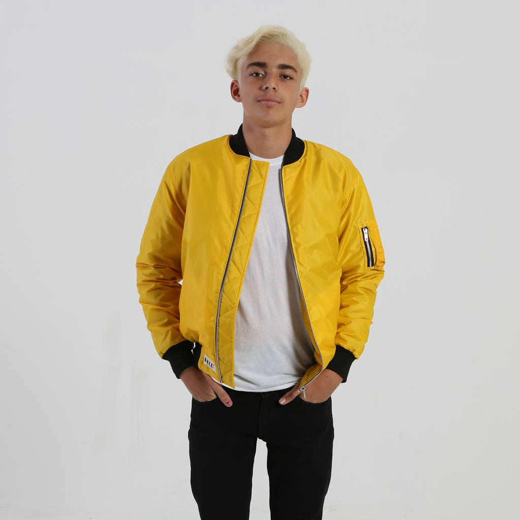Bomber Jacket (Yellow) - Nalu