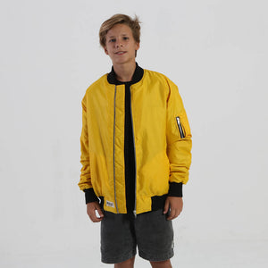 little canary yellow bomber jacket - Nalu