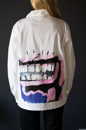 TEETH CANVAS JACKET