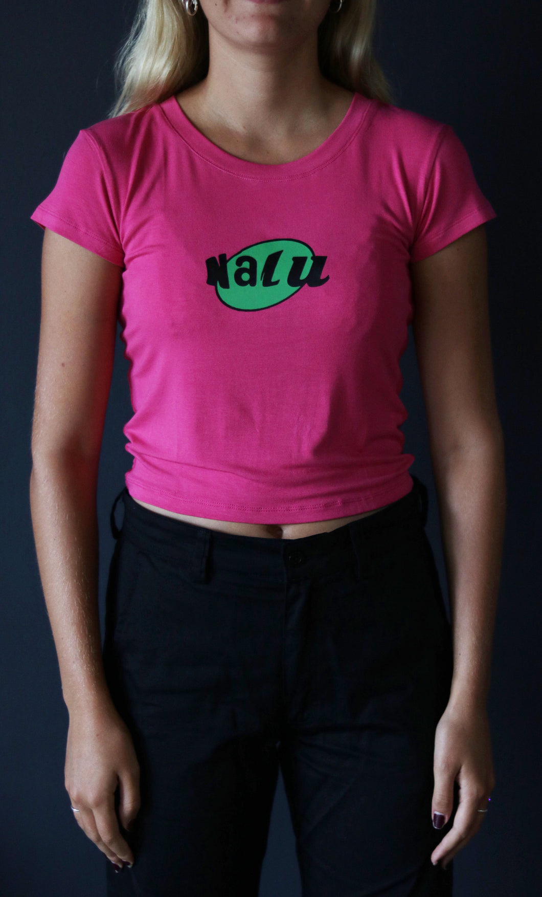 PINK NALU CROP TOP