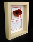 London Poppy Frame in Natural