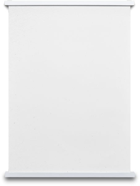 Paper Collective Stiicks Magnetic Frame White