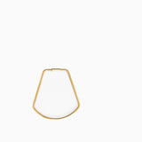 Areaware Contour Keyring Brass Bell