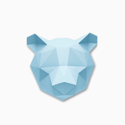 Assembli Paper Bear Kit Sky Blue