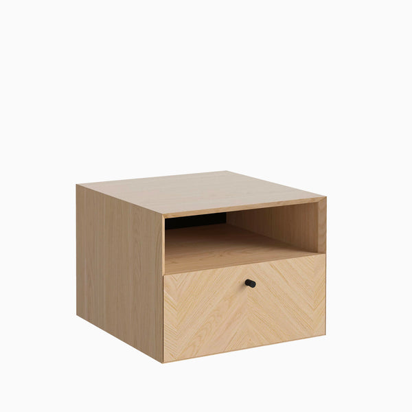 Bolia Luxe Drawer Wall Mounted White Oiled Oak