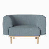 Bolia Abby Armchair Laine Light Blue