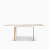 Bolia DoubleUp Dining Table White Pigmented Oak with White Frame