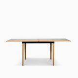Bolia DoubleUp Dining table Oak with Black Frame