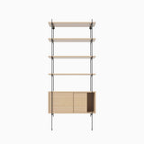 Bolia Rod 5 White Oiled Oak Black