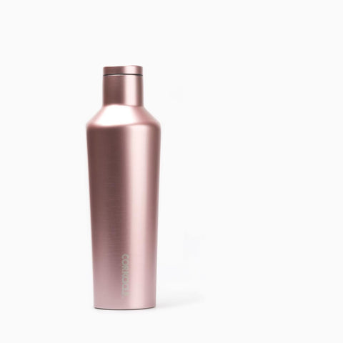 Corkcicle 16oz Canteen Rose Metallic