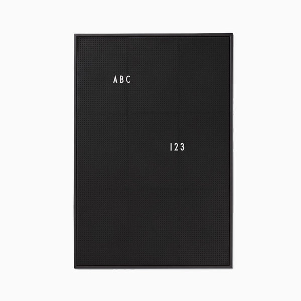 Design Letters A2 Message Board Black