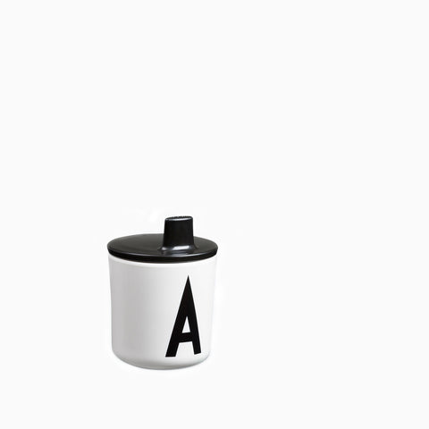 Design Letters Drink Lid Black