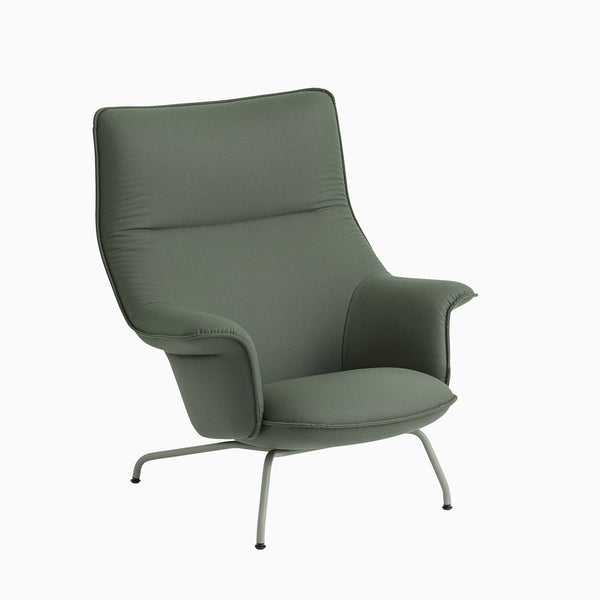 Muuto Doze Lounge Chair Forest Nap 952 Dusty Green Base