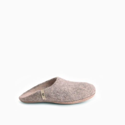 Egos Copenhagen Slipper Natural Grey