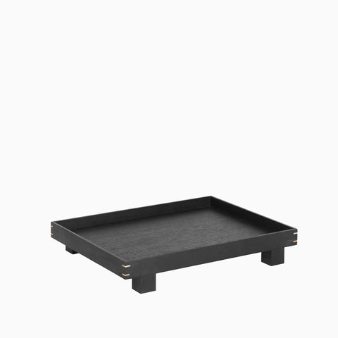 Ferm Living Bon Wooden Tray Small - Black