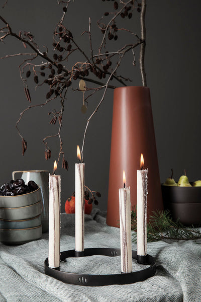 Ferm Living Duo Candle (Set of 2) - Warm Grey