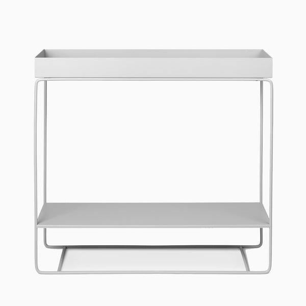 Ferm Living Plant Box Two Tier Light Grey