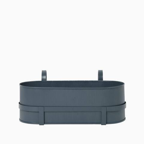 Ferm Living Bau Balcony Box Dark Blue